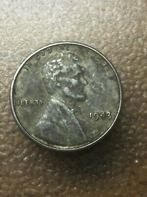 1943 Steel Lincoln Cent Set Of 2