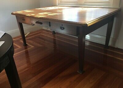 Large Desk, solid timber, two sided partner style