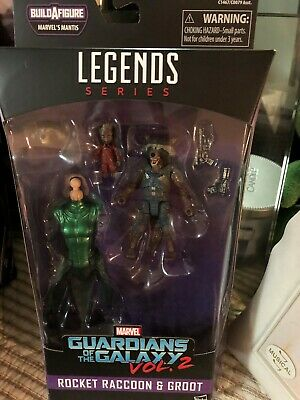 Guardians Of The Galaxy Vol. 2 Marvel Legends Series Rocket Racoon And Kid Groot