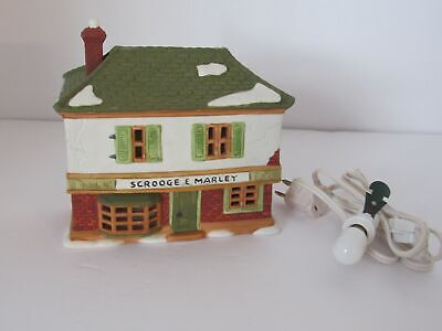 1986 Dept 56 Heritage Dickens' Village Series Scrooge and Marley Counting House