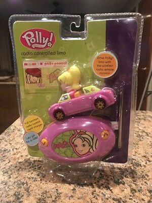 VINTAGE! Polly Pocket Radio Controlled Limo By Mattel NEW!