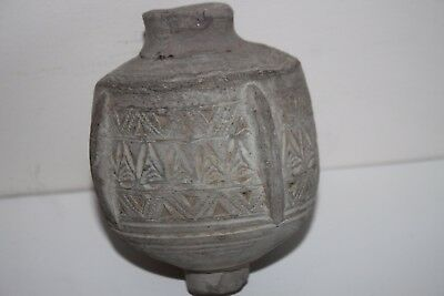 RARE ANCIENT BYZANTINE CERAMIC WAR GRENAD 'GREEK FIRE' 10th C. AD.