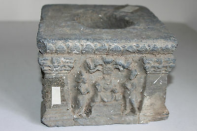 Ancient Indo Greek Buddha Plinth 200/400 Ad