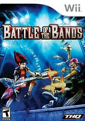 Battle of the Bands (Bilingual Cover) New Nintendo WII