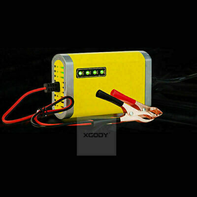Car Battery Charger 2A Maintainer Trickle Automobile 12V Volt Motorcycle