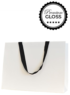 Premium Deluxe Gloss Paper Bags - Extra Large