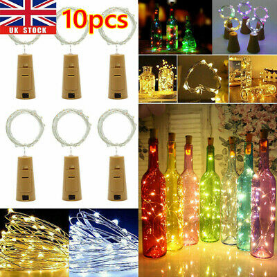 2M 20 LED Cork Lights on a String, Bottle Stopper Fairy Lights For Wedding Xmas