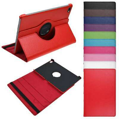 New 360° Rotating PU Leather Case Flip Cover for Huawei MediaPad M5 Lite 10.1''
