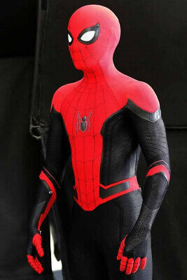 Spider-Man: Far From Home Tights Halloween Cosplay Costumes  3D Zentai Suit