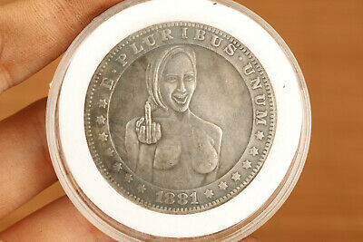 28g silver copper usa BELLE girl collection Valuable statue art gift