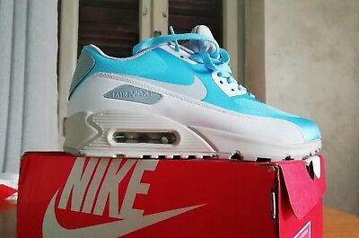wholesale dealer f9f70 92489 Nike Air Max 90 Ultra Essential Scarpe Star Blue 819474-400 Sport Tempo  Libero