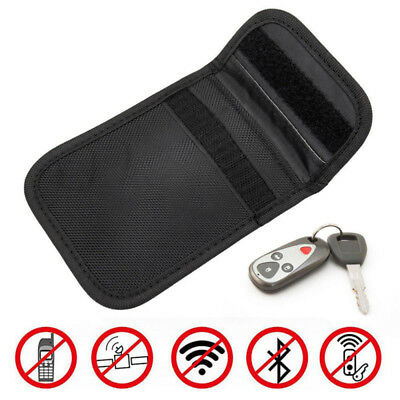 1X New Car Key Keyless Entry Anti-Theft Fob Signal Guard Blocker Bag Defender