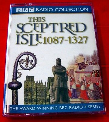 This Sceptred Isle 1087-1327 Making The Nation 2-Tape Audio Anna Massey History