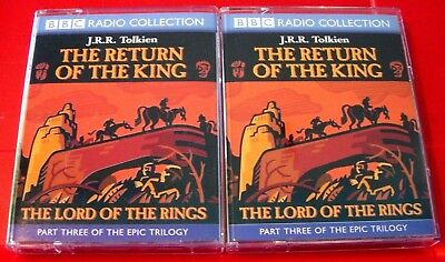 J.R.R.Tolkien Lord Of The Rings Return Of..King BBC 4-Tape Audio Drama Ian Holm