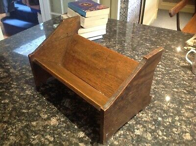 Little Arts And Crafts Antique Oak Bookshelf