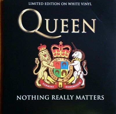 Queen - Nothing Really Matters WHITE VINYL LP LTD EDITION CPLVNY322