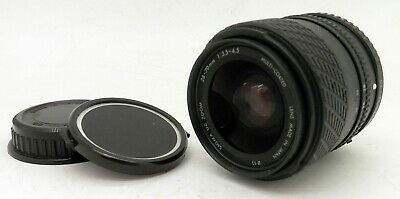 Pentax K Mount Sigma 28-70mm F3.5-4.5 Multi Coated Zoom Lens #3976
