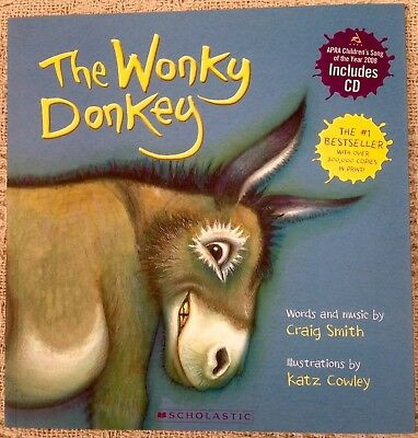 The Wonky Donkey by Craig Smith (Paperback, 2009) With CD BRAND NEW