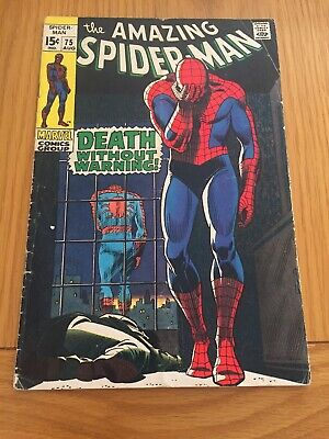 Amazing Spider-Man # 75 Silver Age Cents Copy