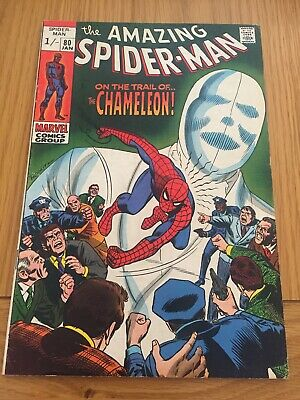 Amazing Spider-Man # 80 Chameleon App. Silver Age Pence Copy