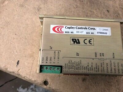 Copley Controls 800-497 Servo Amplifier T125903