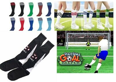 Youth Kids Mens Womens Long Sport Traning New Socks Football Rugby Hockey Soccer