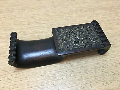 Antique Chinese Wooden Pen Rest