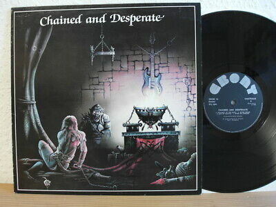 Chateaux - Chained And Desperate LP Record Album 1983 UK Ebony Vinyl