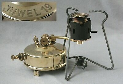 "Alter rarer Benzinkocher G.Barthel ""Juwel 19"", old gasoline cooker"
