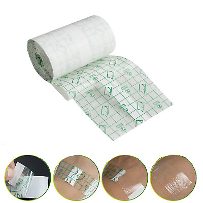 Funwill 10cmX10m Waterproof Transparent Adhesive Wound Dressing Fixer Plaster