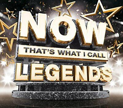 NOW Thats What I Call Legends [CD] Sent Sameday*