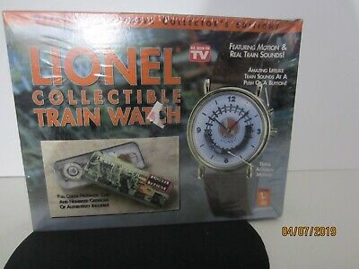 New in Box Lionel Collectible Train Watch featuring motion and sound