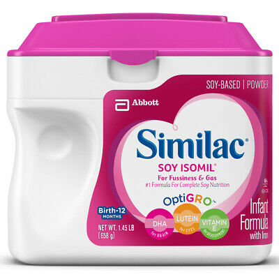 Similac Soy Isomil Infant Formula Powder with Iron