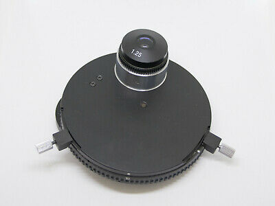 Phase Contrast Condenser Turret + Darkfield - Fits Fisher Micromaster I S90010