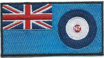 The Royal New Zealand Air Force (RNZAF) Ensign Flag Embroidered Patch Iron-on