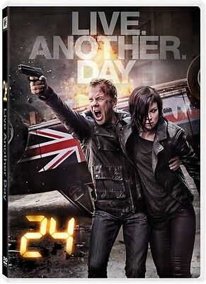 24 Live Another Day (2014, DVD New)