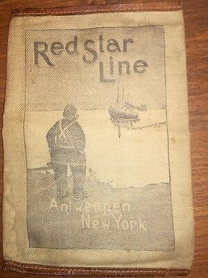 Red Star Line Ticket Hülle