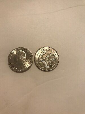 2019 P LOWELL NATIONAL PARK TWO QUARTERS SET Wow