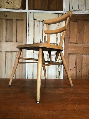 Vintage Ercol Red Dot Childs Chair Childrens Chair Delivery Available