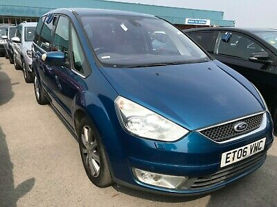 06 Ford Galaxy Ghia 2.0 Tdci - Leather, Pan Roof, Rear Screens, 1F/owner