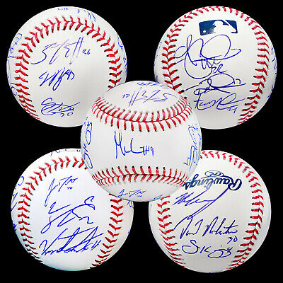 Sports Mem, Cards & Fan Shop 2019 Philadelphia Phillies Team Autographed Signed Baseball Ball Hoskins Bas Coa Balls