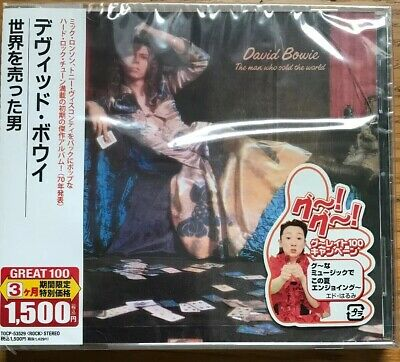 Rare David Bowie Man Who Sold The World CD EMI Japan Case OBI Sealed GREAT100