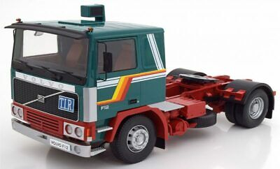 ROAD KINGS VOLVO F12 4X2 TRUCK WHITE RED CHASSIS 1977 RK180031 1:18 SCALE