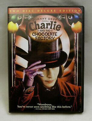 Charlie and the Chocolate Factory 2-Disc 2005 Widescreen Deluxe Ed Trading cards