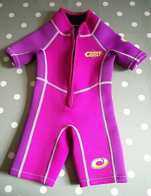 Baby Girl Shortie Wetsuit (12-18 months)