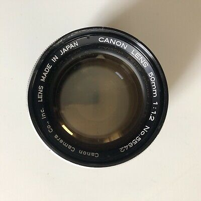 Excellent + Canon 50mm 1.2 ltm With Leica M Adapter