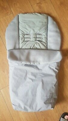 Mamas and papas footmuff Grey excellent condition