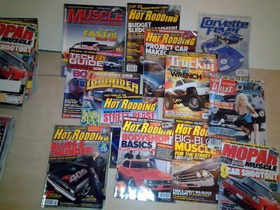 Hot Rod and Muscle Car magazines - Huge Collection of American magazines (new)
