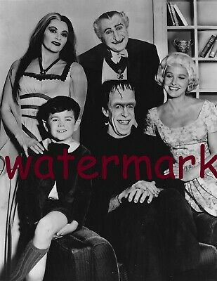 The Unforgettable 'The Munsters' Tv Show Cast Group From 1964 Publicity Photo