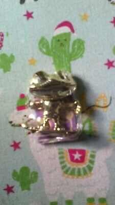 cadbury dairy milk freddo treasures rare gold coloured frog new and sealed
